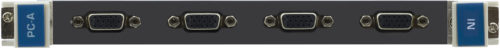 Модуль c 2-мя входами VGA (аналоговыми) и стереоаудио Kramer VGAA-IN4-F32/STANDALONE