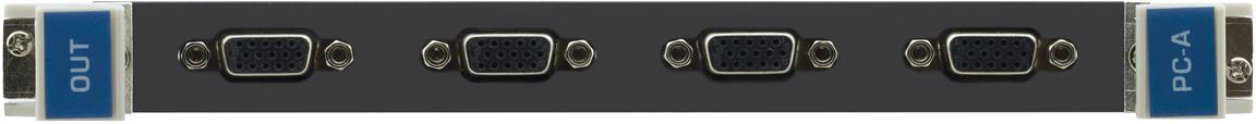 Модуль c 2 выходами VGA (аналоговыми) и стерео аудио Kramer VGAA-OUT4-F32/STANDALONE