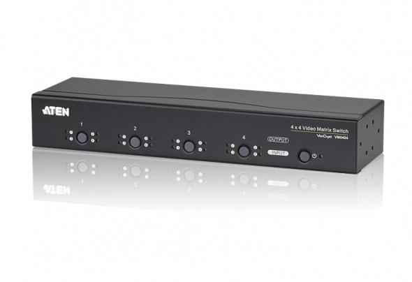 Матричный коммутатор VGA и Аудио 4х4