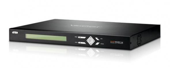 Матричный коммутатор VGA и Аудио 8х8 c выходами@витую пару