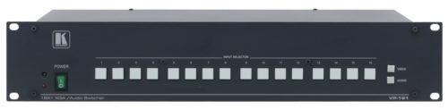 Коммутатор 16:1 сигналов VGA и балансных стерео аудио сигналов Kramer VP-161