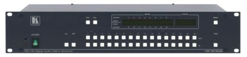 Многоформатный матричный коммутатор 16:16 цифровых аудио сигналов Kramer VS-1616AD