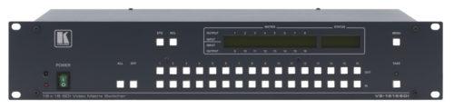 Многостандартный матричный коммутатор 16:16 цифровых видео сигналов SDI Kramer VS-1616SDI