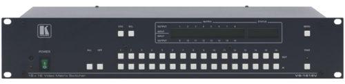 Матричный коммутатор 16:16 композитных видео сигналов с переключением в интервале кадрового гасящего импульса Kramer VS-1616V