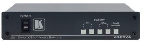 Универсальный коммутатор 2х1 сигналов DVI