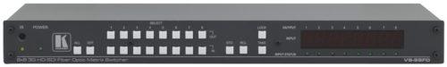 Матричный коммутатор сигналов 3G HD-SDI с оптическими входами/выходами Kramer VS-88FO