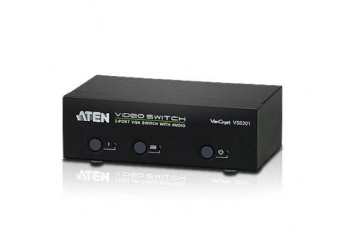 Коммутатор VGA и Аудио 2-портовый