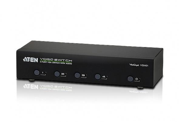 Коммутатор VGA и Аудио 4-портовый