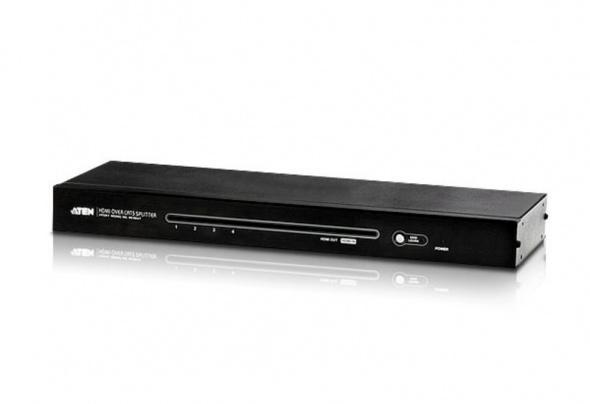 Разветвитель HDMI по кабелю Cat 5 4-портовый
