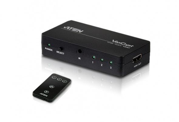 Коммутатор HDMI 3-портовый