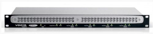 Сетевого модуль аналоговых аудиовыходов на 4 канала со встроенной памятью для экстренных сообщений для работы по протоколу CobraNet. Встроенный DSP процессор. Работа совместно с ELD-1 и ANC-1. Резервирование. Два порта RJ45. Разъемы Phoenix