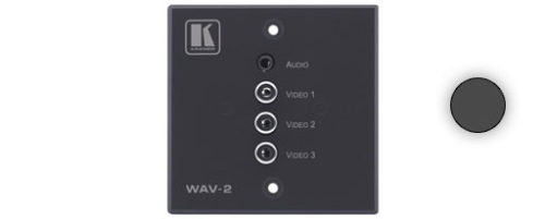 Настенная панель-переходник для видеосигналов (YUV