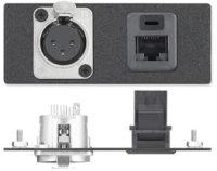 AAPs - Audio - Один 3-контактный XLR на манжету для пайки - Neutrik