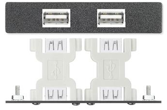 AAPs - Control - Два переходника USB A F-F