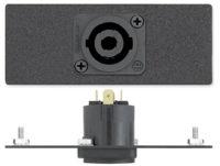 AAPs - Audio - One Neutrik Speakon Male to Solder Tabs - 4 Pole