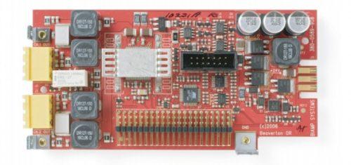 2-канальная карта выходов с усилителем мощности для AudiaFLEX