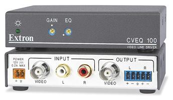 Удлинители и активные интерфейсы для аудио и видео - CVEQ 100