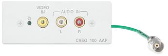 Удлинители и активные интерфейсы для аудио и видео - CVEQ 100 AAP