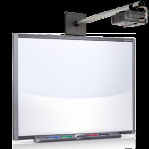 Интерактивная доска 77 со встроенным проектором V25
