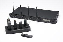 8-миканальная система Executive HD в комплекте: базовая станция