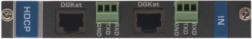 Выходная плата с 2 портами DGKat и RS-232 для коммутатора Kramer VS-1616D Kramer DGKAT-OUT2-F16/STANDALONE