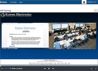 AV Streaming Software - Extron Media Player