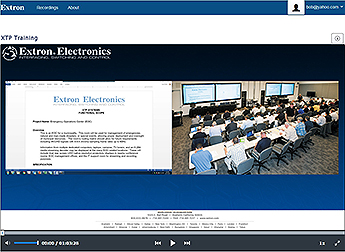 AV Streaming Software - Extron Media Player
