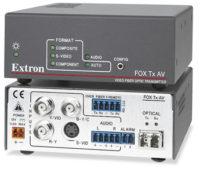 Оптоволоконные удлинители - FOX Tx AV