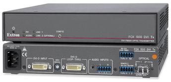 Оптоволоконные удлинители - FOX 500 DVI Tx