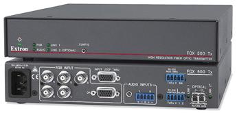Оптоволоконные удлинители - FOX 500 Tx