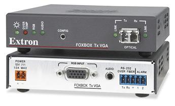 Оптоволоконные удлинители - FOXBOX Tx VGA