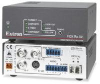 Оптоволоконные удлинители - FOX Rx AV