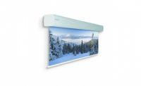 Проекционный экран для крупных мероприятий. Ширина полотна может быть от 5 до 7 метров.