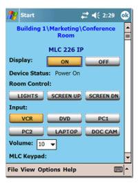 ПО для управления ресурсами - GlobalViewer® for Pocket PC™