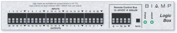 Сетевой модуль 20-ти программируемых логических входов/выходов для работы с AudiaFLEX или NEXIA по шине RCB