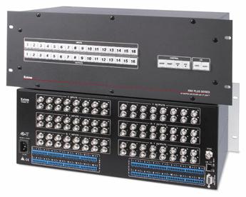 AV Matrix Switchers - MAV Plus 1616 HD