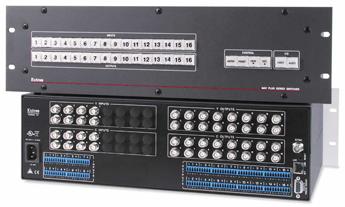 AV Matrix Switchers - MAV Plus 816 SV