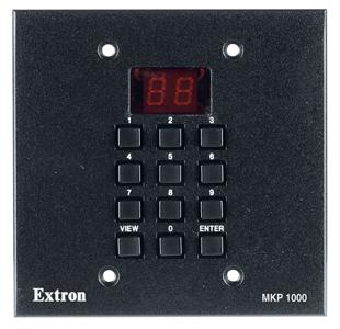 Аксессуары к матричным коммутаторам - MKP 1000