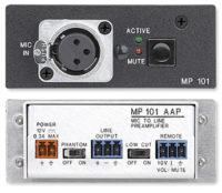 Микшеры и аудиопроцессоры - MP 101 AAP