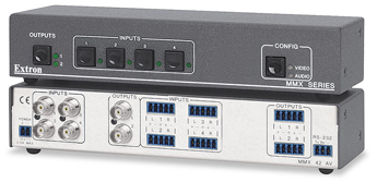 AV Matrix Switchers - MMX 42 AV
