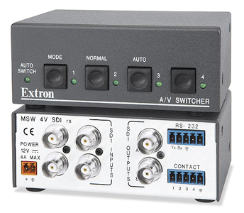 Коммутаторы SDI и HD-SDI - MSW 4V SDI rs
