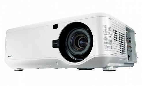 Инсталляционный проектор с яркостью 6200 лм и разрешением 1280x800 (WXGA)