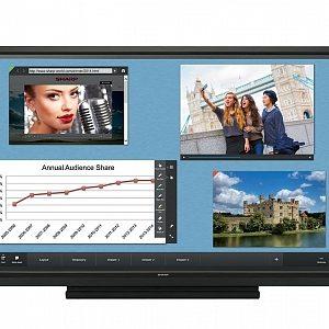 Интерактивная панель Sharp PN-60TW3