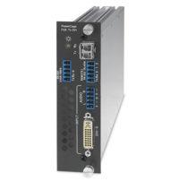 Оптоволоконные удлинители - PowerCage FOX Tx DVI