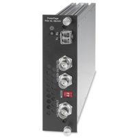 Оптоволоконные удлинители - PowerCage™ FOX 3G HD-SDI