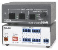 Микшеры и аудиопроцессоры - RAC 104
