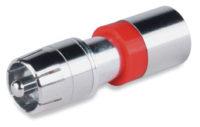 Опрессовываемые разъемы и аксессуары - RCA Male Compression Connectors-Nickel