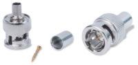 Обжимные разъемы и аксессуары - BNC Male RG59 Crimp Connectors