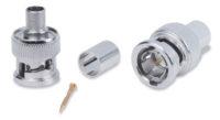 Обжимные разъемы и аксессуары - BNC Male RG6 Crimp Connectors