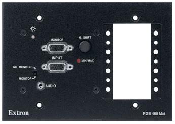 Архитектурный интерфейс - RGB 468 Mxi